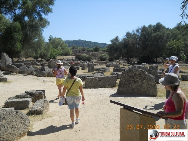 Grecia Olympia intrare