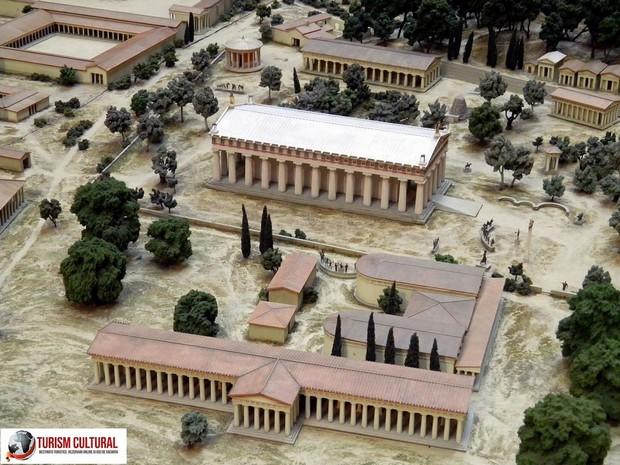 Grecia Olympia reconstituire British Museum