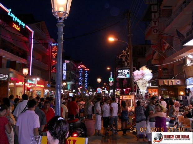 Grecia Paralia Katerini noaptea