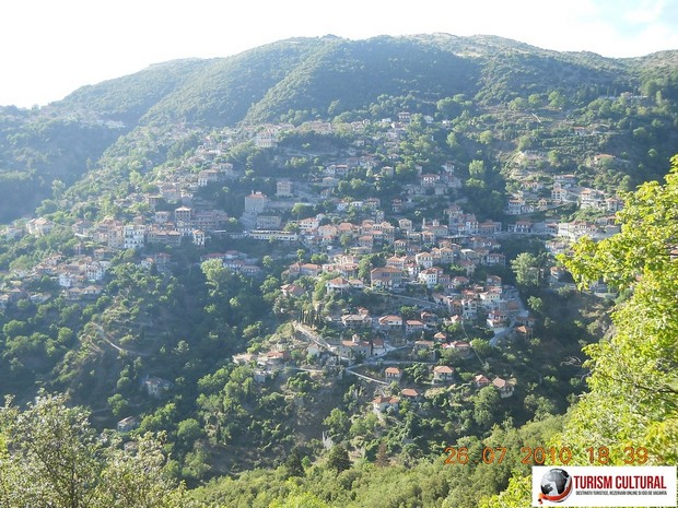 Grecia Peloponez satul Dimitsana