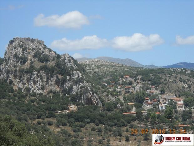 Grecia Peloponez satul Karitena