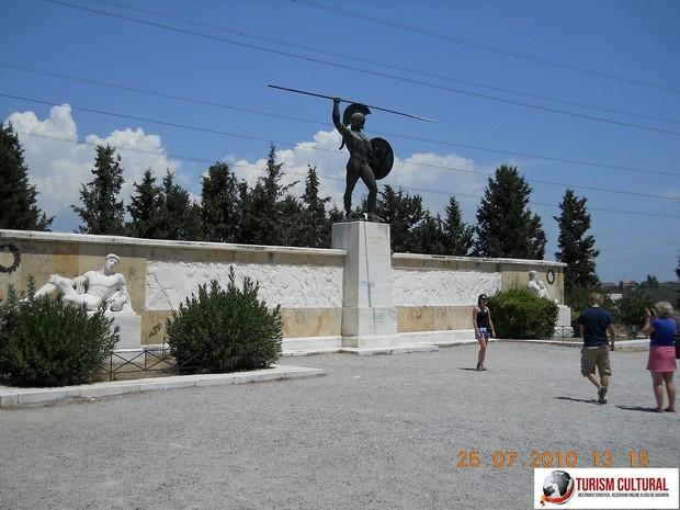 Grecia Termopile mausoleul lui Leonidas