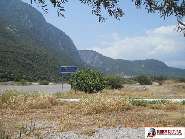 Grecia Termopile valea bataliei