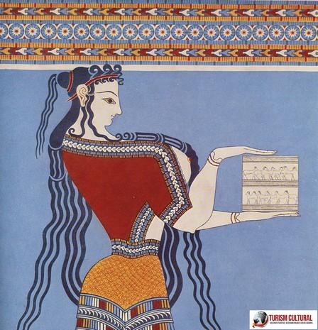 Grecia Tirint fresca femeie (reconstituire)