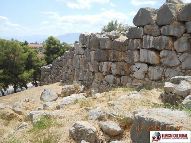 Grecia Tirint zid exterior cetatii antice