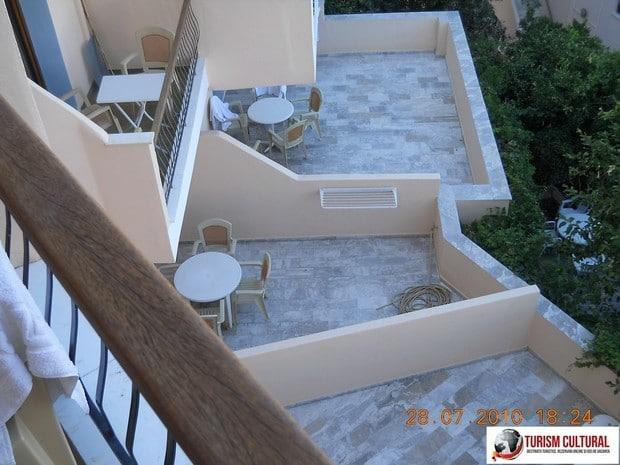 Grecia Tolo hotel Polydor balcon