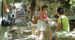 Grecia Vasta grup de turisti