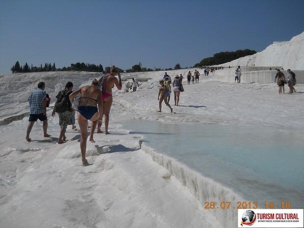 Turcia Pamukkale turisti