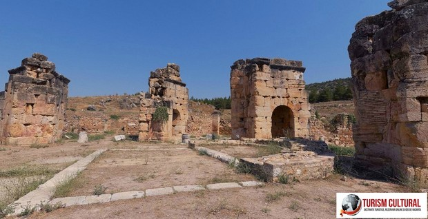 Turcia Hierapolis martyrionul Sfantului Apostol Filip