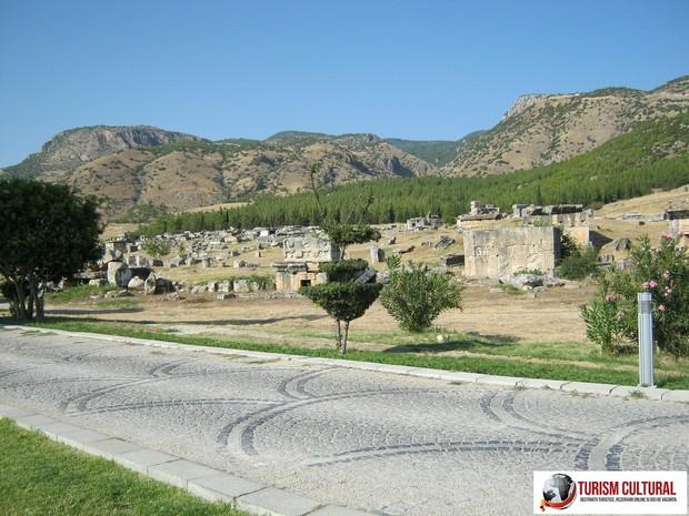 Turcia Hierapolis necropola