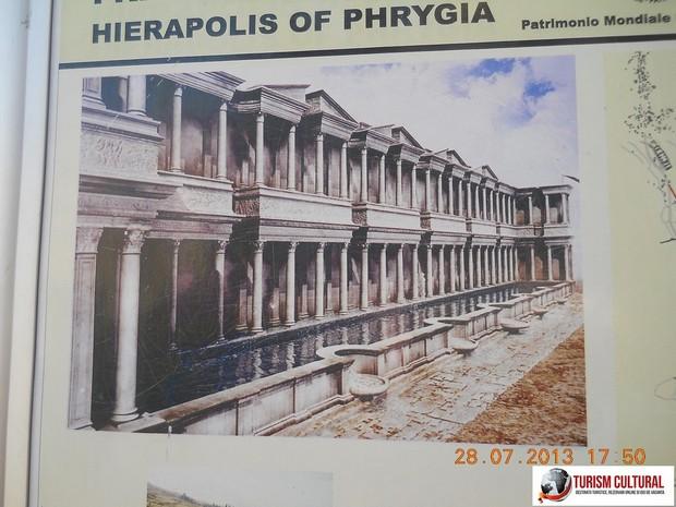 Turcia Hierapolis nymphaeum reconstituire