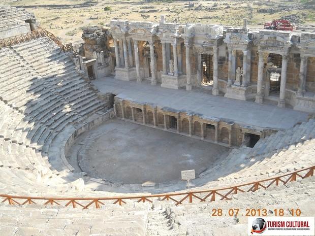 Turcia Hierapolis teatrul scena