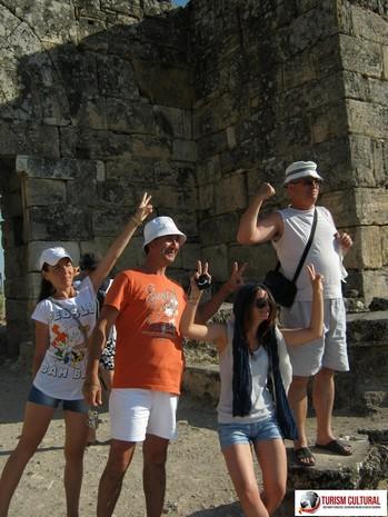 Turcia Hierapolis turisti