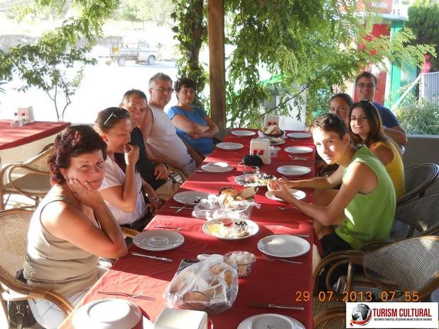 Turcia Pamukkale Hotel Ozbay mic dejun
