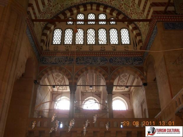 Turcia Edirne Moscheea Selimiye balcon primul etaj