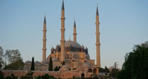 Turcia Edirne Moscheea Selimiye vedere generala
