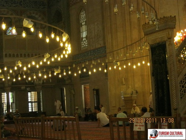 Turcia Edirne Moscheea Selimiye zona rezervata barbatilor