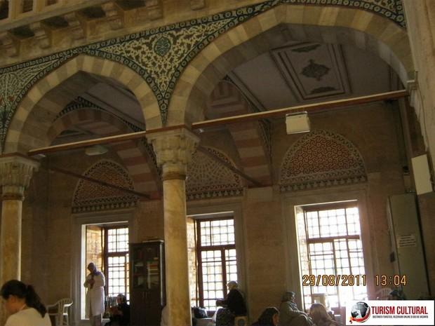 Turcia Edirne Moscheea Selimiye zona rezervata femeilor