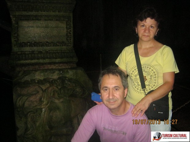 Turcia Istanbul Basilica Cisterna florinb