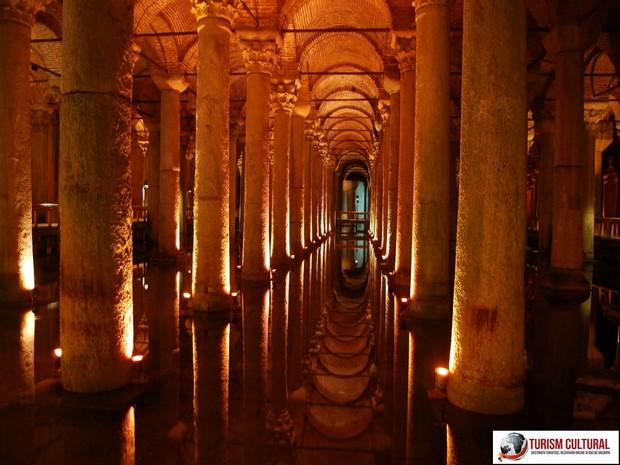 Turcia Istanbul Basilica Cisterna
