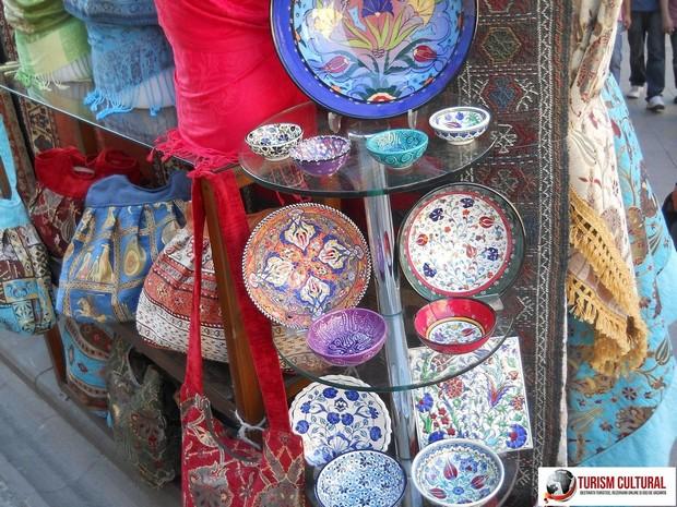Turcia Istanbul farfurii pictate