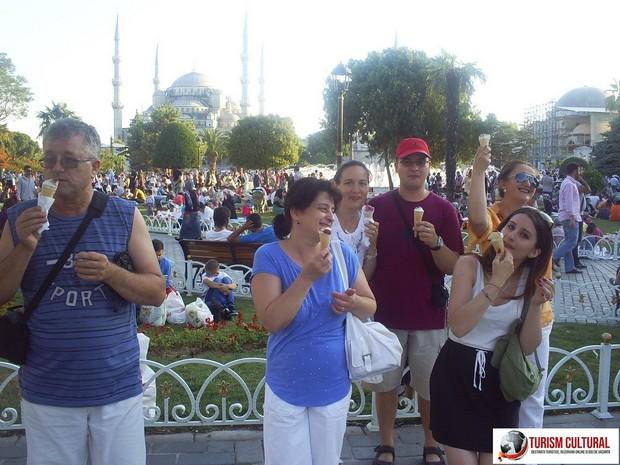 Turcia Istanbul inghetata