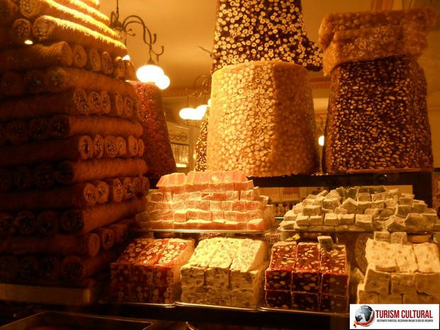 Turcia Istanbul magazin dulciuri