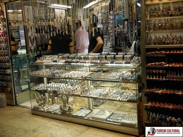 Turcia Istanbul Marele Bazar bijuterii argint