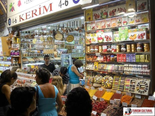 Turcia Istanbul Marele Bazar dulciuri