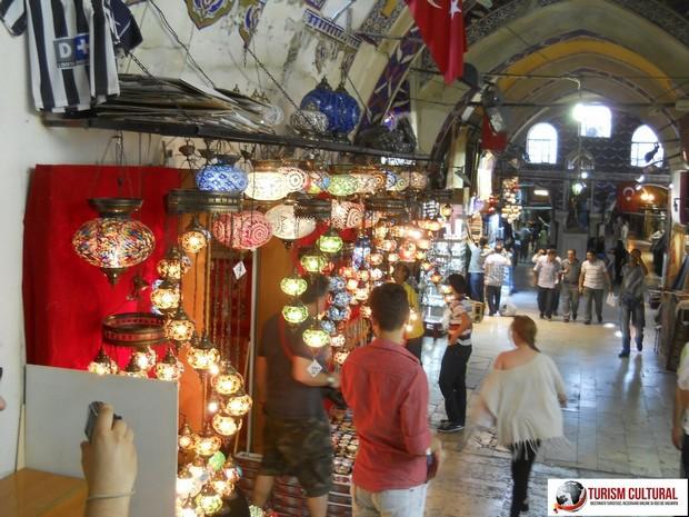 Turcia Istanbul Marele Bazar lampioane