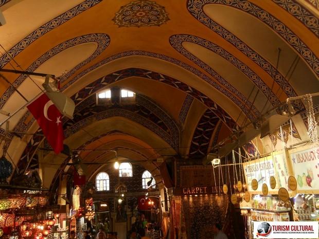Turcia Istanbul Marele Bazar tavan pictat
