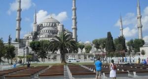 Turcia Istanbul Moscheea Albastra parc