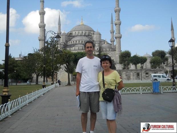 Turcia Istanbul Moscheea Albastra