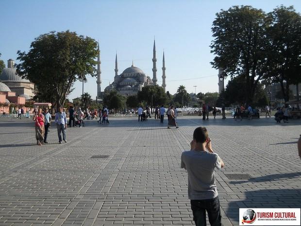 Turcia Istanbul parcul Sultan Ahmet