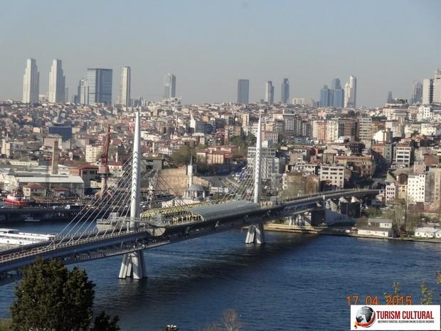 Turcia Istanbul pod peste Cornul de Aur