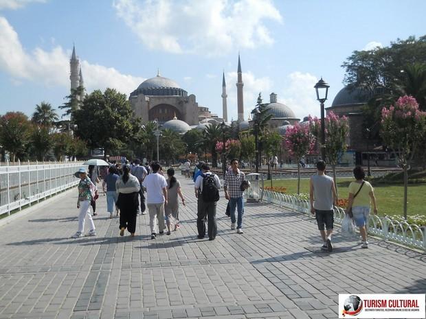 Turcia Istanbul spre Sfanta Sofia