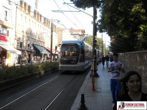 Turcia Istanbul tramvai