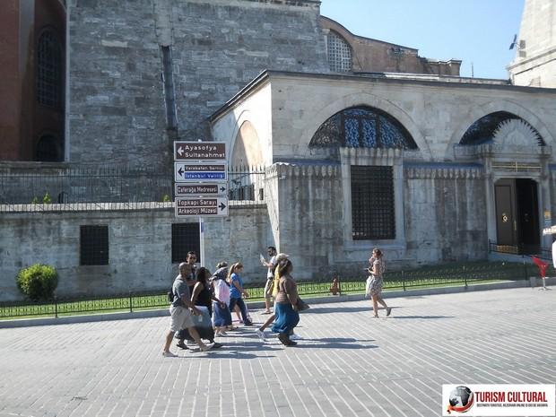 Turcia Istanbul turisti americani