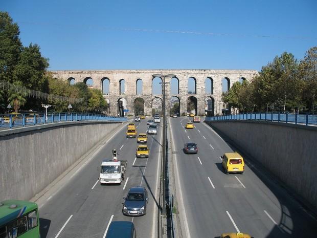 Turcia Istanbul Bulevardul Ataturk