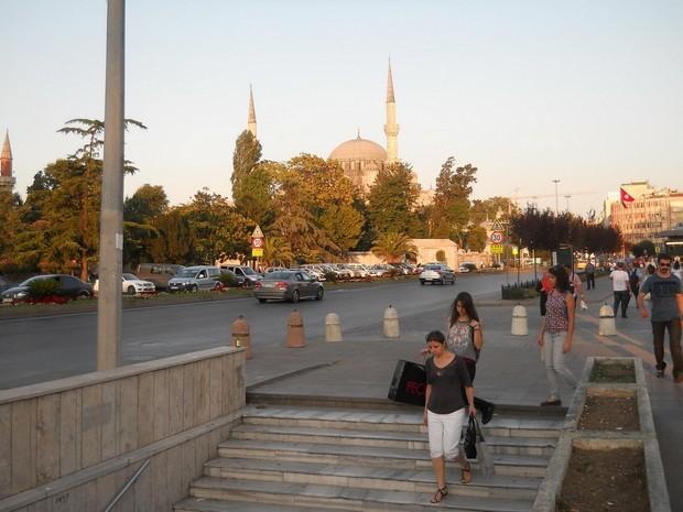 Turcia Istanbul spre Moscheea Sehzade