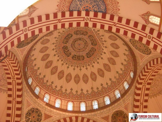 Turism Cultural - Turcia Istanbul Moscheea Sehzade cupola