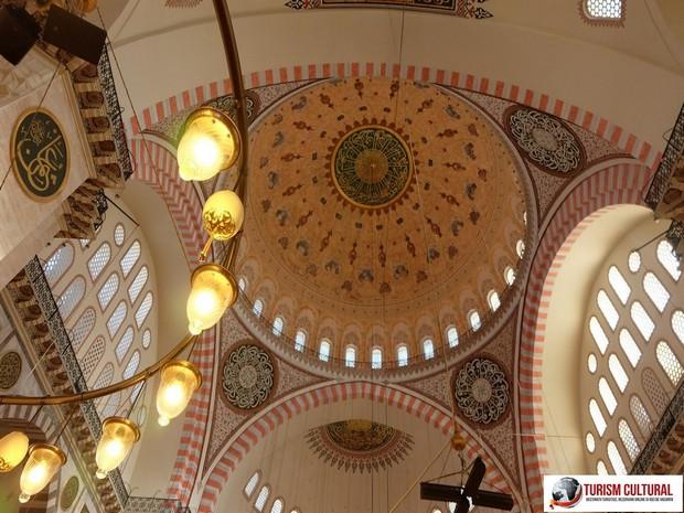 Turiam Cultural - Turcia Istanbul Moscheea Suleymaniye cupola