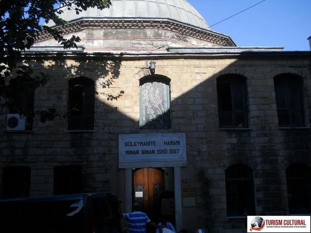 Turism Cultural - Turcia Istanbul Moscheea Suleymaniye hamamul