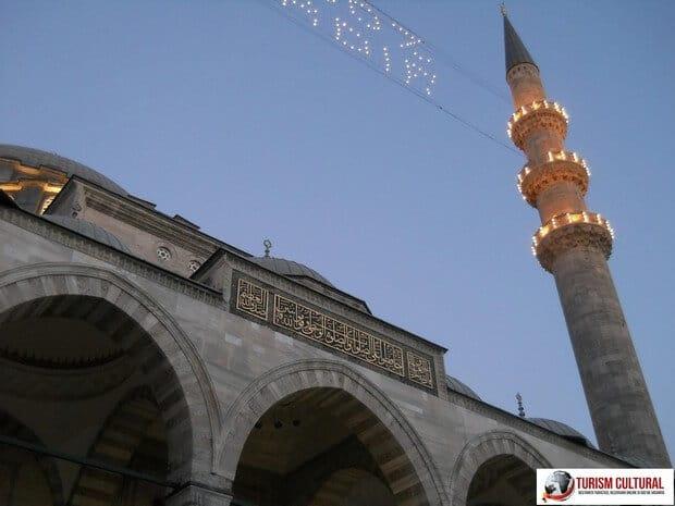 Turism Cultural - Turcia Istanbul Moscheea Suleymaniye minaret