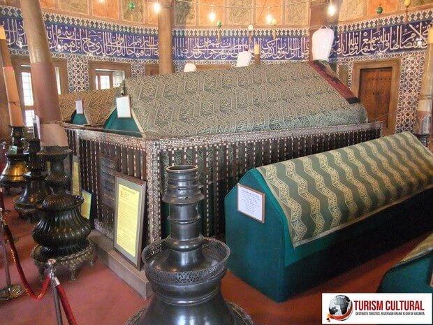 Turism Cultural - Turcia Istanbul Moscheea Suleymaniye sicriu Soliman