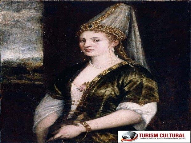 Turism Cultural - Sultana Rosie Roxelana - pictura de Tizian