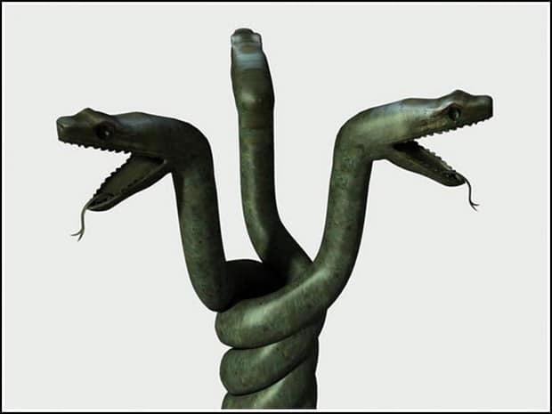 Turism Cultural - Turcia Istanbul hipodrom coloana cu serpi reconstituire capete