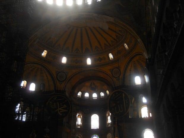 Turism Cultural - Istanbul Sfanta Sofia cupola