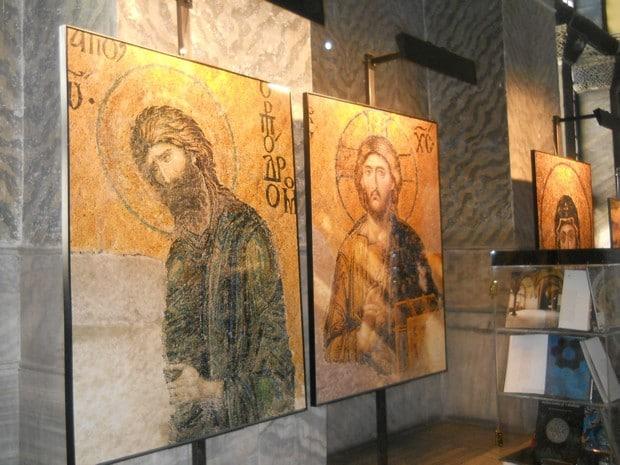Turism Cultural - Istanbul Sfanta Sofia Ioan Botezatorul si Iisus Hristos