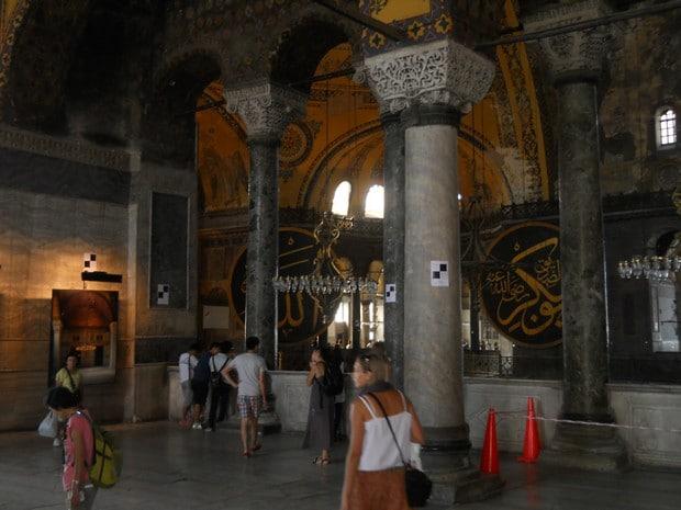 Turism Cultural - Istanbul Sfanta Sofia primul etaj